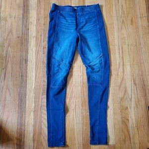 Mudd size Medium blue leggings with look of jeans